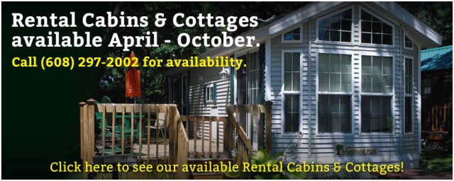 Wilderness Campground Rental Cabins _ Cottages Rotator