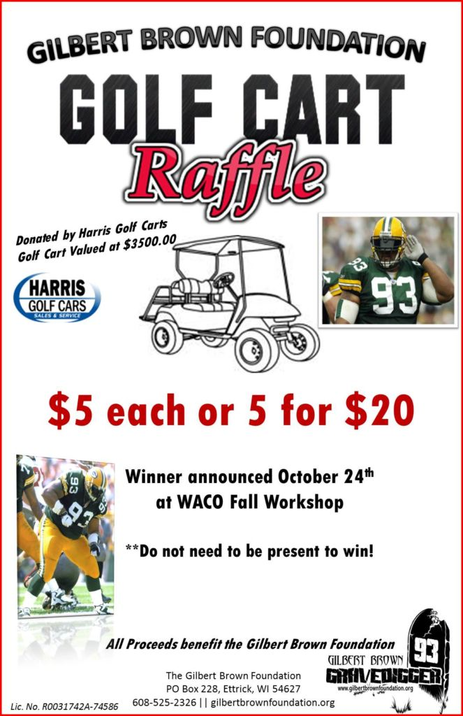 Golf Cart Raffle Tickets