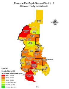 Wisconsin State map-secondary boundaries-11