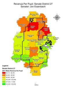 Wisconsin State map-secondary boundaries-31