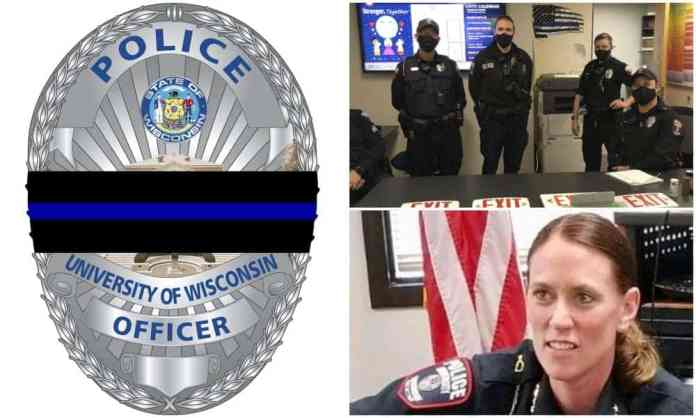 UW-Madison Police Chief Falsely Blasts 'Cowardly' Employee Over Thin Blue Line Ban Outrage