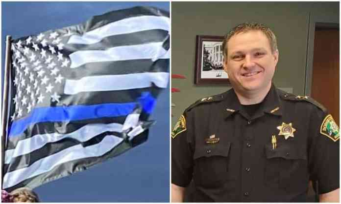 Dodge County Sheriff Defends Thin Blue Line Flag, Slams Extremists