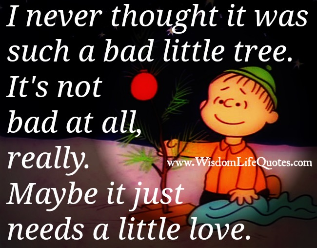 Everyone Just Needs A Little Love Wisdom Life Quotes