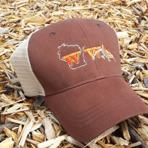 2015-2016 WWA brown-tan trucker cap 2