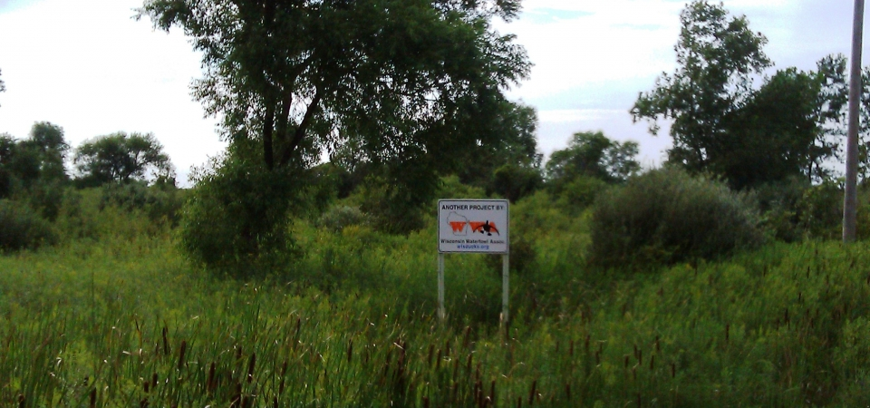 Project Sign 2 – Sally's Marsh