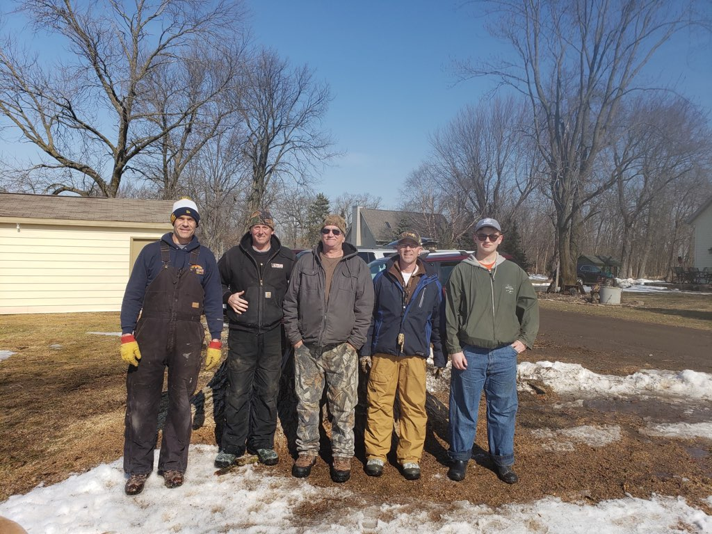 Valley Wood Duck Box Install March 2020.8