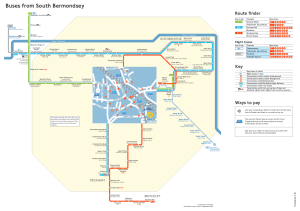 Buses from South Bermondsey