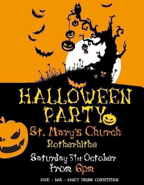 Halloween at St Marys Churchyard