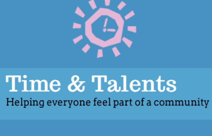 Time and Talents Logo