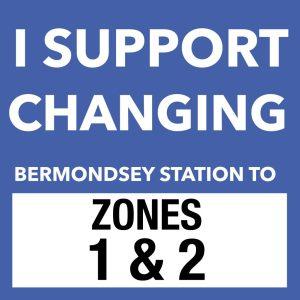 Campaignt to Change Bermondsey Station to Zones 1 & 2