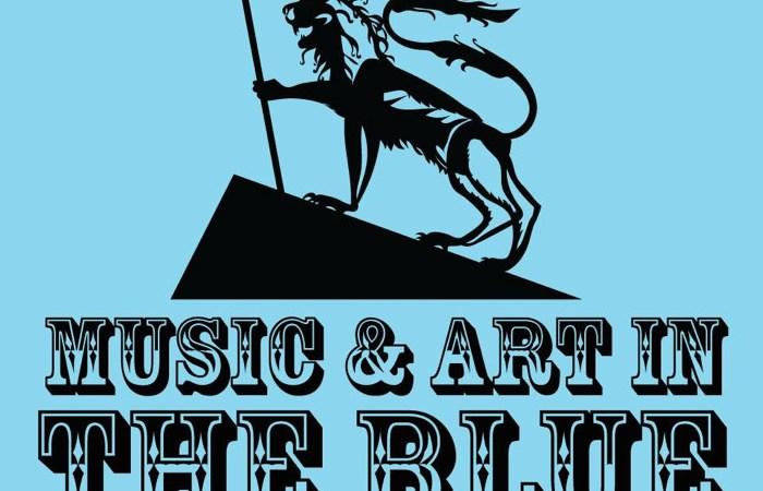 Music & Art In The Blue Logo