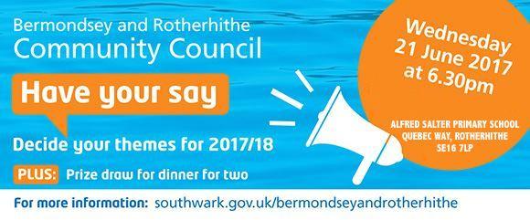 Bermondsey Rotherhirthe Community Council June 2017