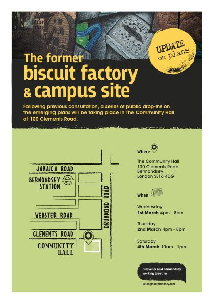 Biscuit Factory and Campus site consultation 1