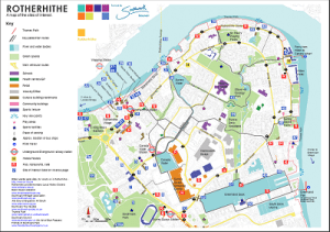 The Rotherhithe Map published by www.se16-worg.co.uk/