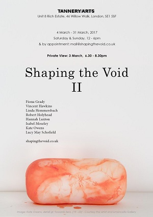 Shaping the Void, IIShaping the Void, II
