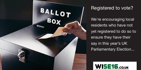 Register to vote - election