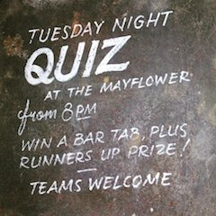 Mayflower Pub Quiz Night