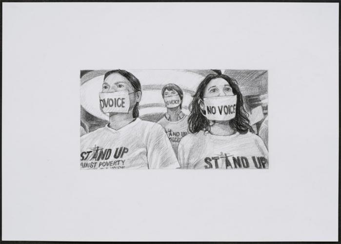 Rirkrit, Untitled 2007, (demonstration drawing #78( 2007