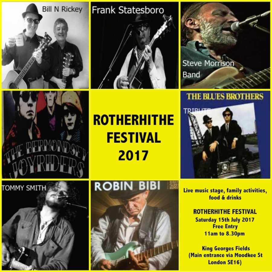 Rotherhithe Festival 2017