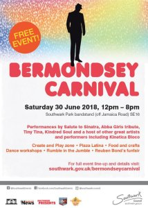 Bermondsey Carnival 2018