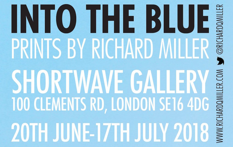 Into The Blue Exhibition at Shortwave Cafe