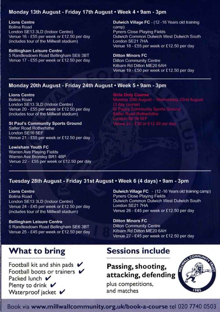 Millwall-Community-Trust-Summer-2018-course-03