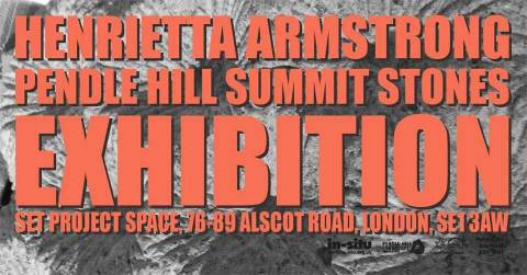 Henrietta Armstrong - Pendle Hill Summit Stones Exhibition