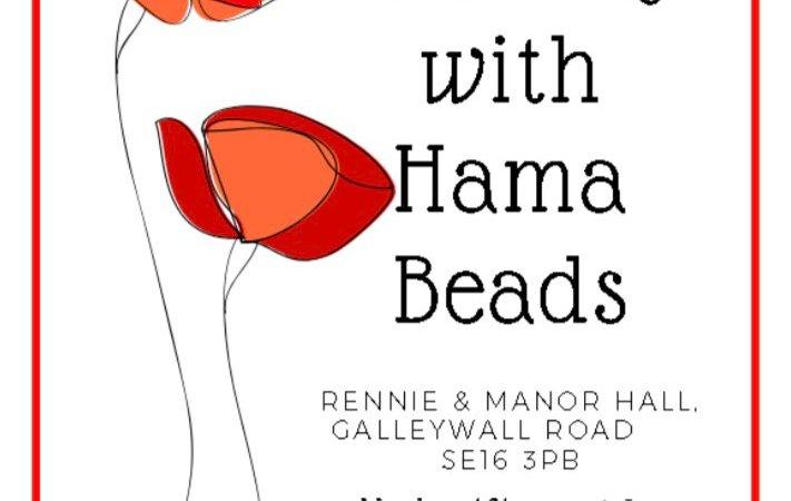 Rennie and Manor TRA poppy making with hana beads