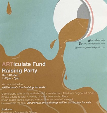 ARTiculate Fund Raising Party in Bermondsey