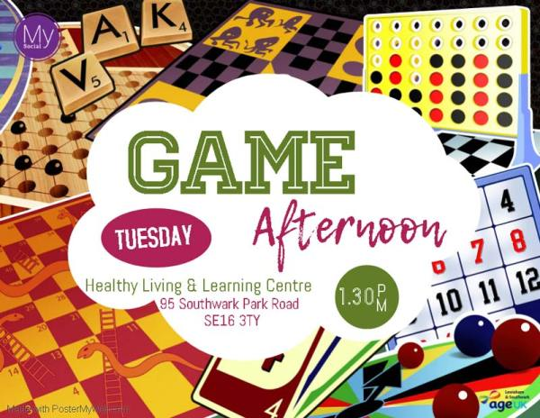 MySocial Game Afternoon
