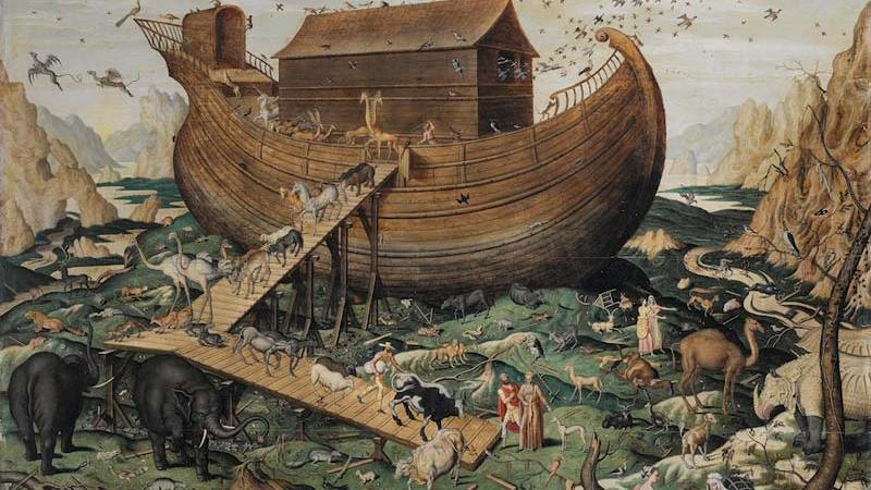 Noah's Ark on Mount Ararat by Simon de M 1