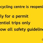Reuse and Recycling Centre in Southwark re-opening on 14 May 2020