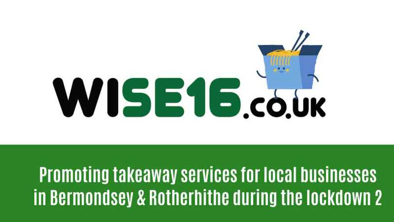 promoting local businesses TAKEAWAY SERVICES in Bermondsey & Rotherhithe