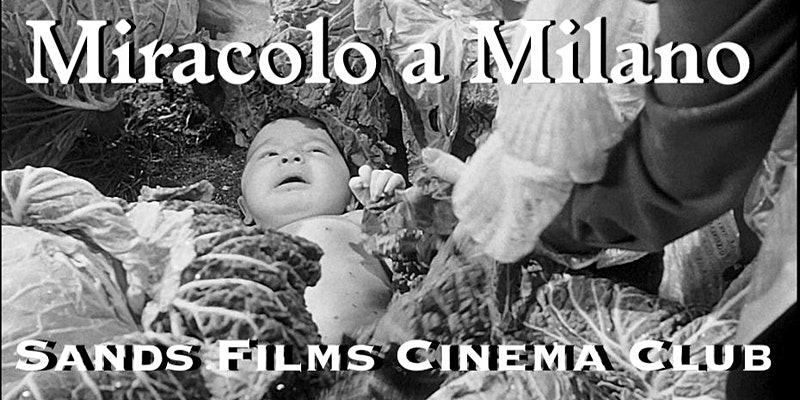 sands films cine club - miracolo a milano