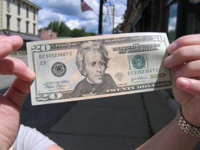 $20 dollar bill