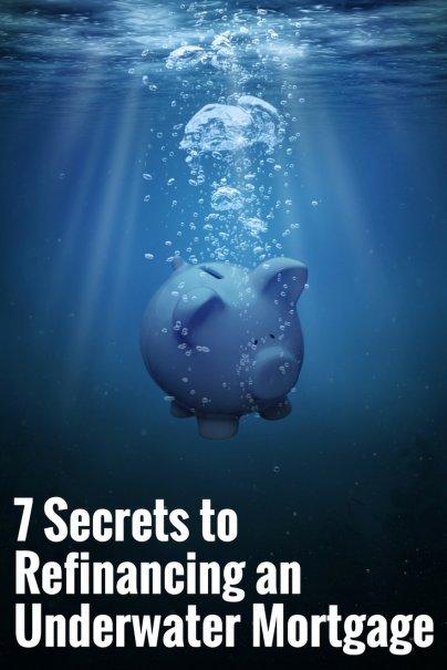 Underwater mortgage help