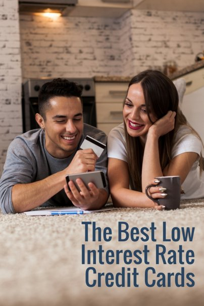Low interest rate credit cards