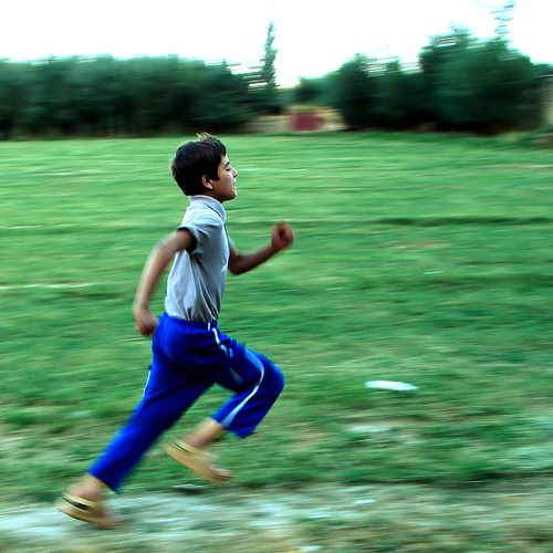 Get moving! Getting some exercise will lift your energy levels all day. Photo by Hamed Saber / Flickr