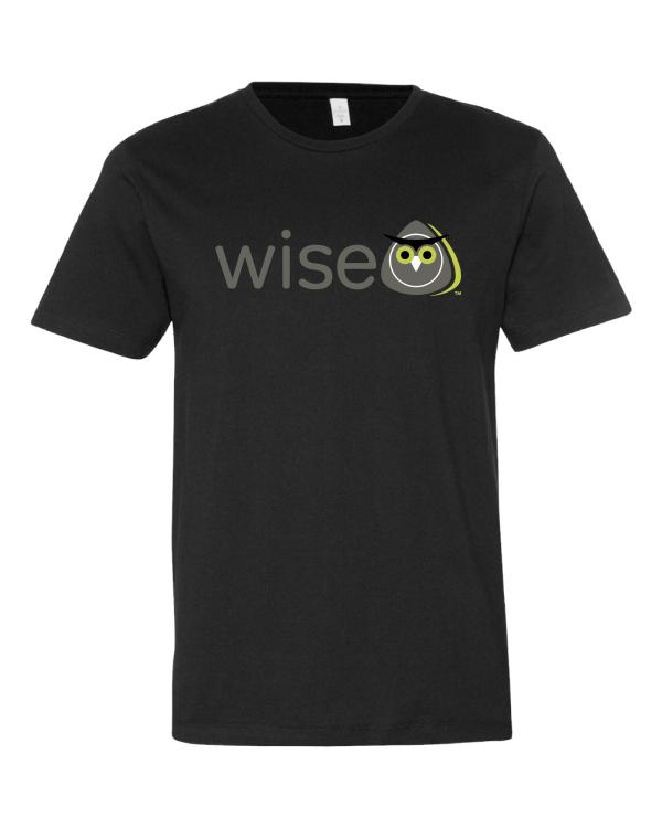 WISE Certification Black Tee