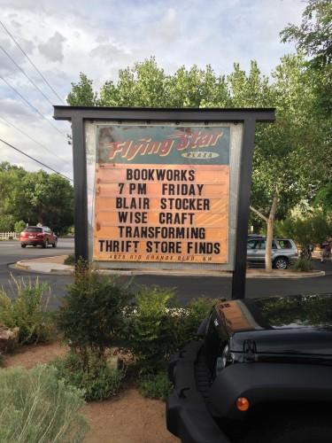 At Bookworks, Albuquerque, NM