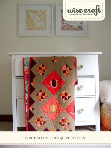 De Dutch Quilt Pattern by Wise Craft Handmade