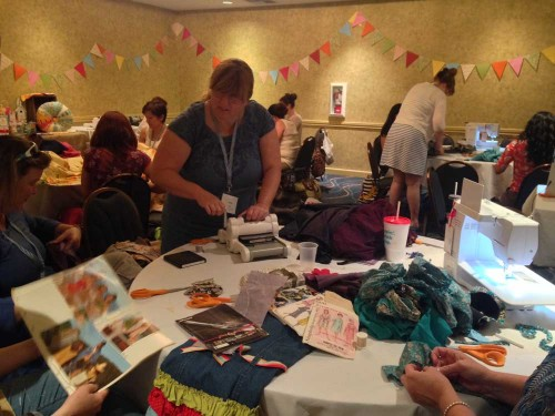 Recycled Flower Class by Wise Craft Handmade