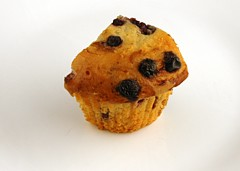200 Calories of Blueberry Muffin