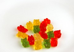 200 Calories of Gummy Bears