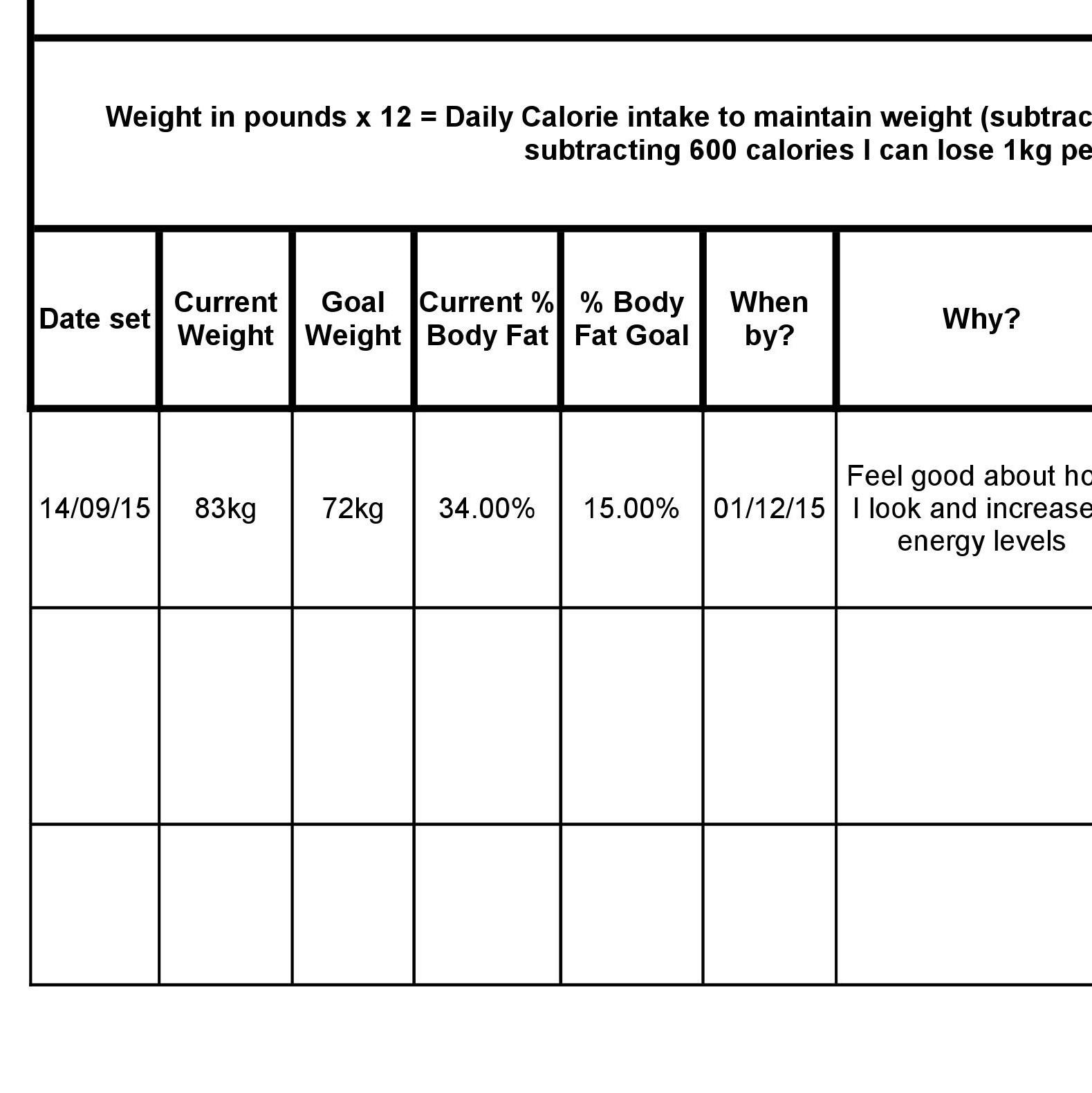 Stylish Goal Setting Worksheets To Print Free