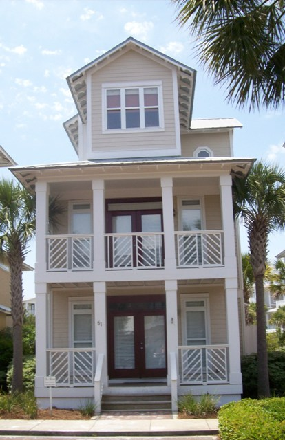 28 house plan for narrow lot beach