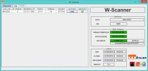 Sw interfaccia scanner
