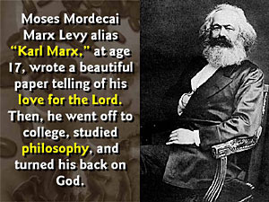 Image result for karl marx satanism