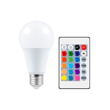 E27 RGB Smart Bulb with Remote Control   Get Offers With Wise Outlets  
