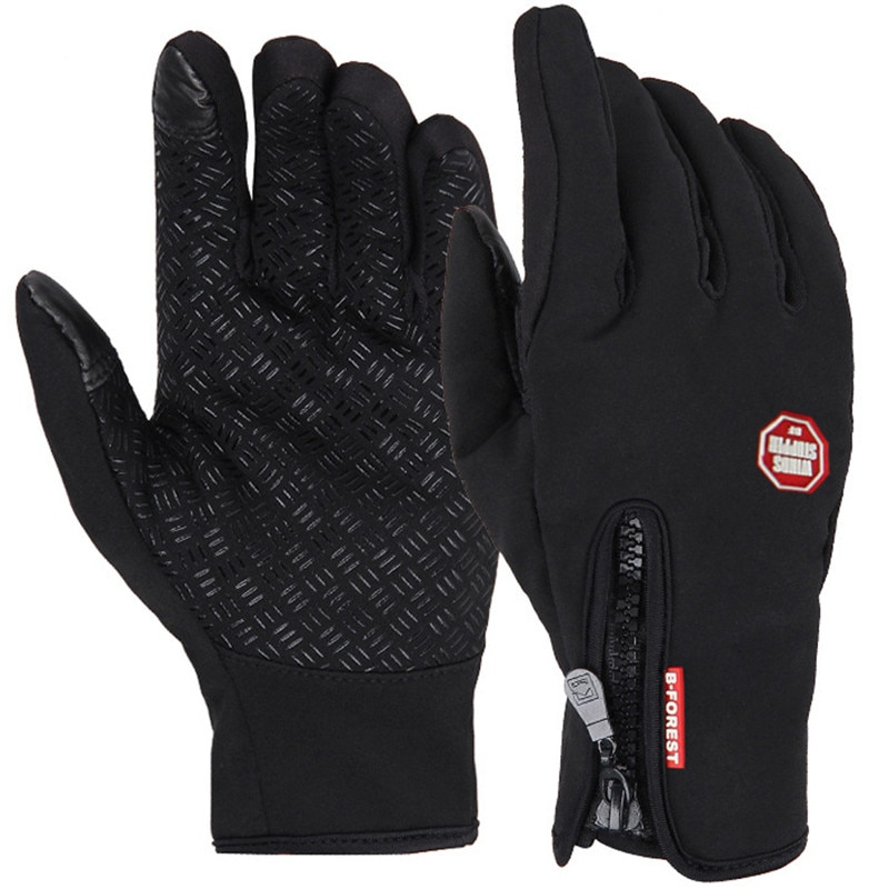 Anti-Slip Warm Touchscreen Cycling Gloves Available | Wise Outlets |